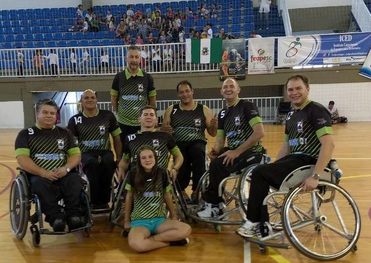 Chapecó fica entre os primeiros no Brasileiro de Handebol Cadeirante dfd98abd7742a