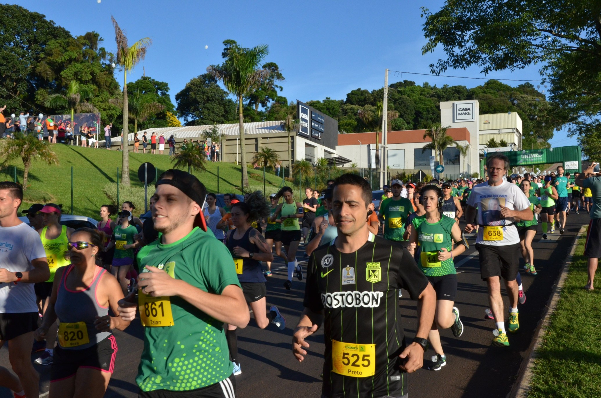 DI Online - Corrida de rua da Unimed reúne mil atletas em Chapecó 32decdf5480