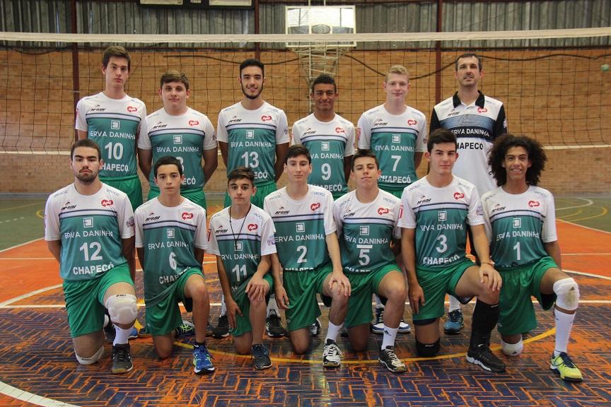 Time de Chapecó estreia no Campeonato Catarinense de Vôlei Infantil em  Gaspar 98e832750c5f5