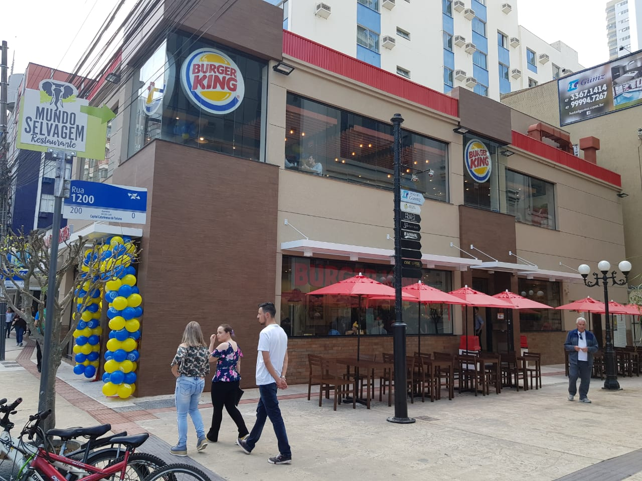 c7582a2ca DI Online - Burger King abre Drive Thru no centro de Chapecó